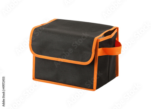 A fabric black box for keeping stuff or anything