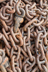 Chain for mooring
