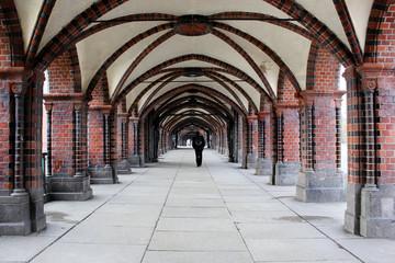 Fußgängerbrücke in Berlin