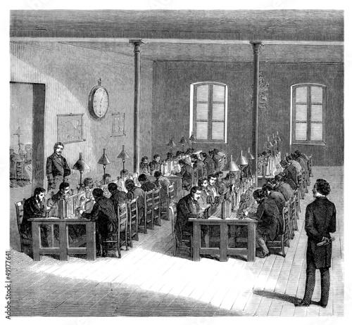 Telegraph Central - 19th century