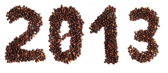 2013 from coffee beans