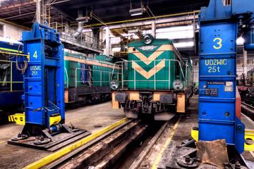 Old Polish train
