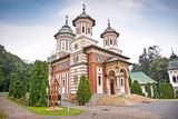 The Sinaia Monastery in Sinaia. Transylvania. Romania. poster