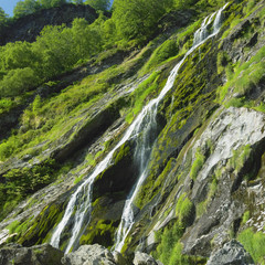 Powerscourt Waterfall, County Wicklow, Ireland