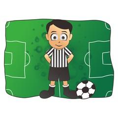 soccer referee field