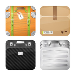 Cases and parcel, iOS style design