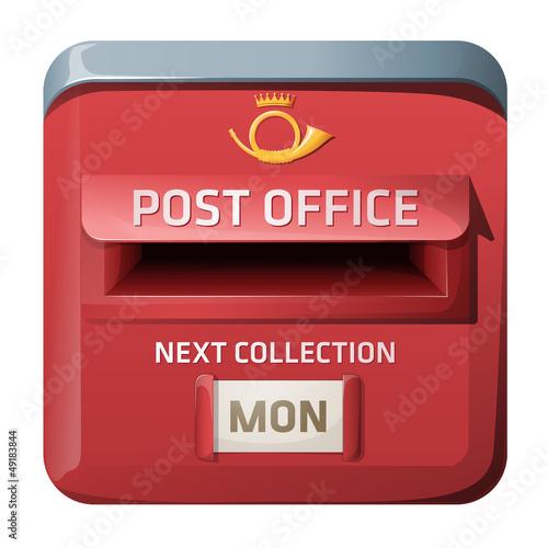 Mailbox, iOS style design