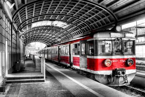 Naklejka pociąg