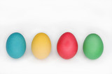 Colourful Easter Eggs Standing