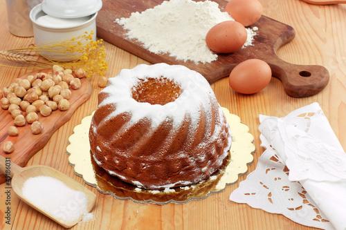 Torta paradiso - Cake paradise