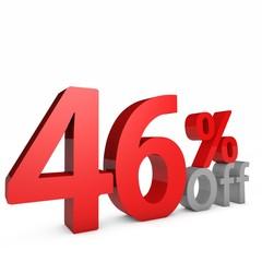 46 Percent off