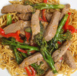 Thai Beef with Broccoli and Noodles Stir Fry