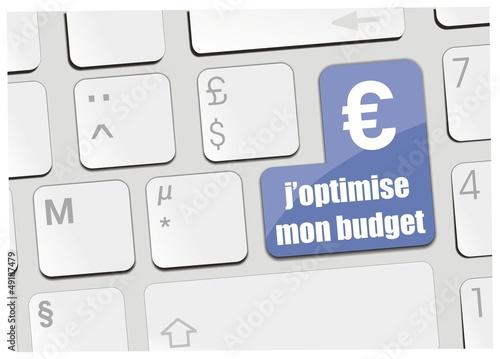 clavier j'optimise mon budget