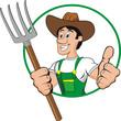 farmer man cartoon