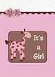 It's a girl giraffe