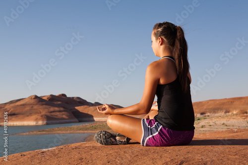 Desert Yoga and Relaxation