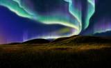 aurora on field - Fine Art prints