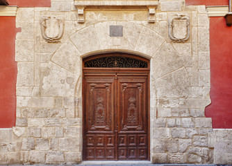 Nice Door in Historic Monument