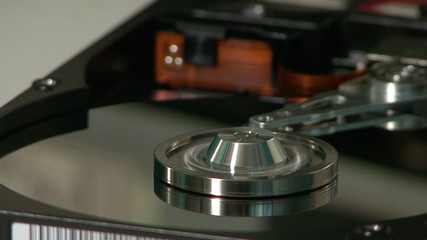 Computer hard disk with clipping path 02