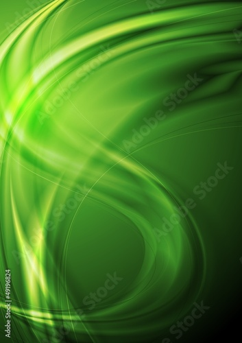 Colourful vector waves background