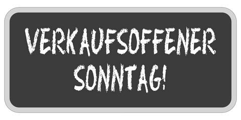 TF-Sticker eckig oc VERKAUFSOFFENER SONNTAG!