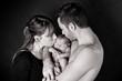 l'amour de deux jeunes parents