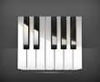 Octave, piano keys