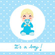 It's a boy baby design