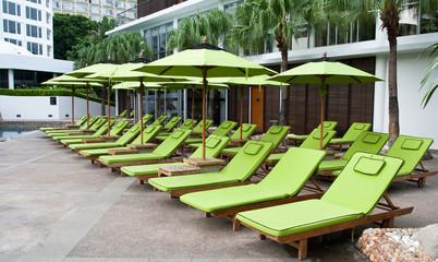 Garden chair in hard rock hotel pattaya