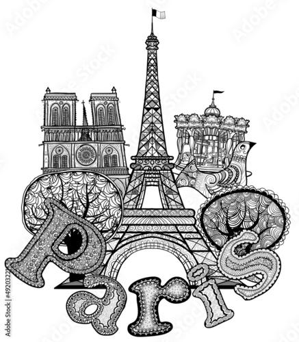 composition about Paris