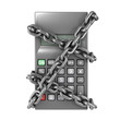 Chained calculator from the front