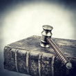 gavel law book