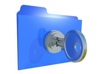 FOLDER LOCKED WITH PASSWORD - 3D