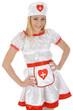 Junge Frau im Krankenschwester-Kostüm