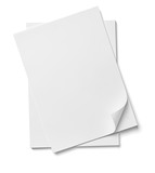 stack of papers with curl documents office business