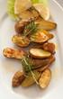 Kartoffel aus dem Backofen