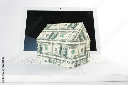 Haus über das Internet kaufen