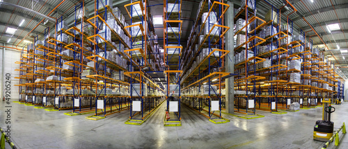 Leinwandbild Motiv entrepôt