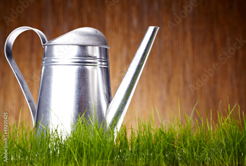 garden tools background