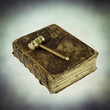 judges hammer book of justice