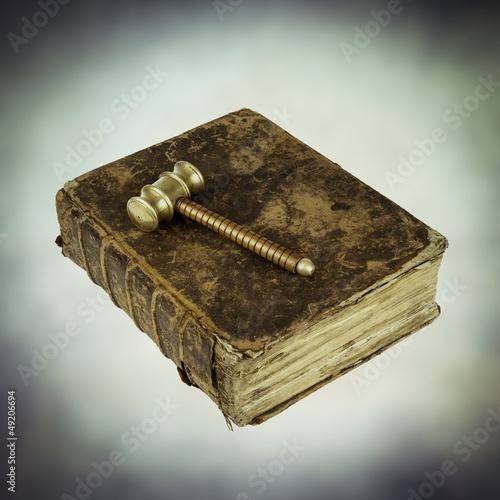 judges hammer book of justice