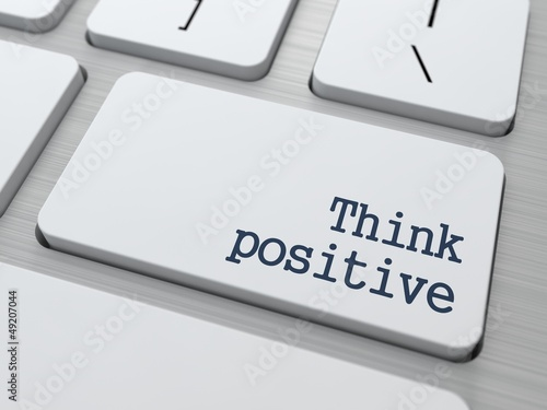 Positive Thinking Concept.