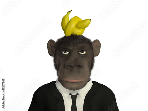 Mr.Monkey - knotted banana