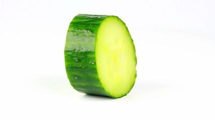 slice cucumber rotate