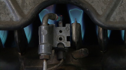 Lighting the boiler (1)