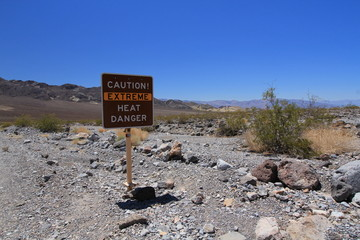 Death Valley Warning