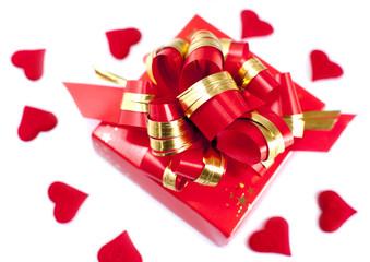 boite emballage cadeau de saint Valentin