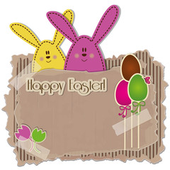 Happy Easter background - Place your text - Pasqua