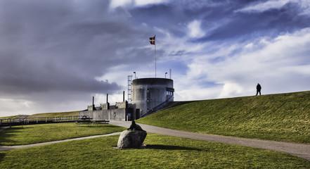 Hojer vidaa lock gate in Denmark