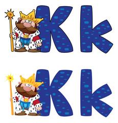 letter K king